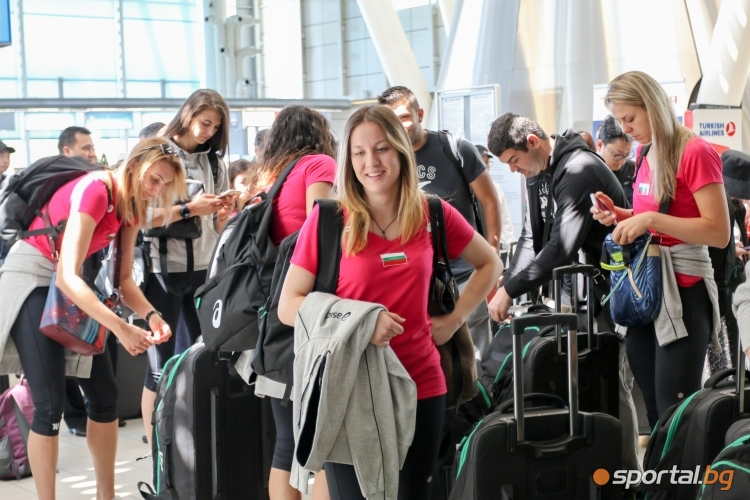 Женският национален отбор по волейбол заминава за Азербайджан