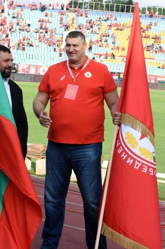 """Празникът за 70 години ЦСКА на """"Васил Левски"""""""