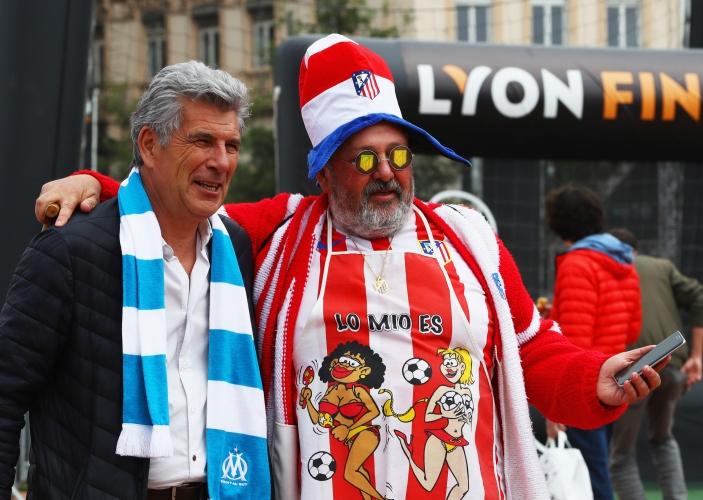 Финалът на Лига Европа в снимки