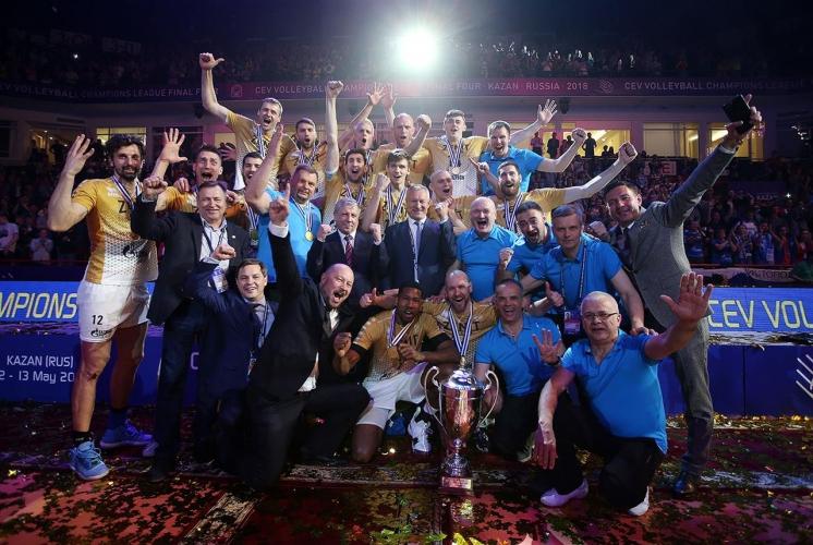 Зенит (Казан) обърна Лубе и отново спечели Шампионската лига