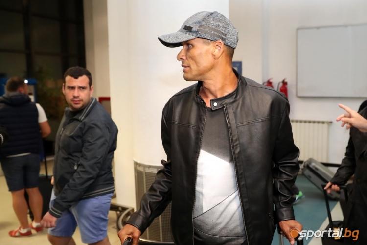 Ривалдо пристигна в София