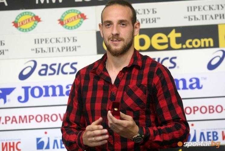 Стивън Петков е футболист на месеца
