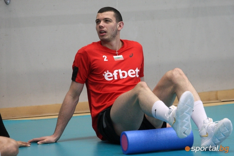 Открита тренировка на националите по волейбол