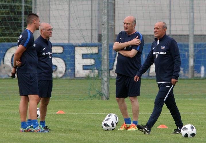 Тренировка на Левски