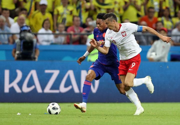 Полша - Колумбия