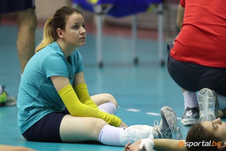 Открита тренировка на националният отбор по волейбол за жени