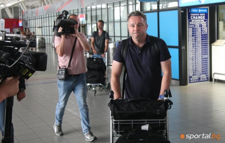 Славиша Стоянович вече е в София
