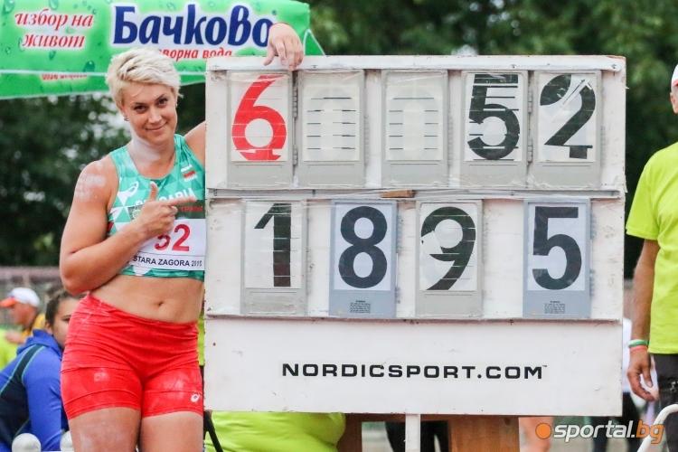 Балканиадата по лека атлетика - първи ден