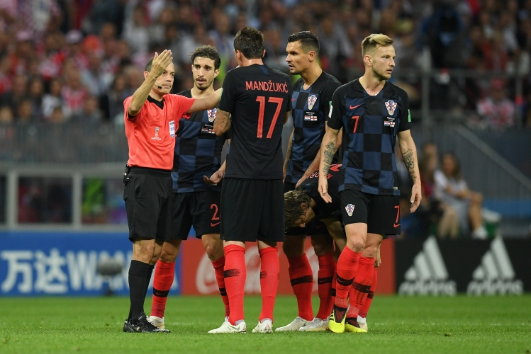 Хърватия - Англия