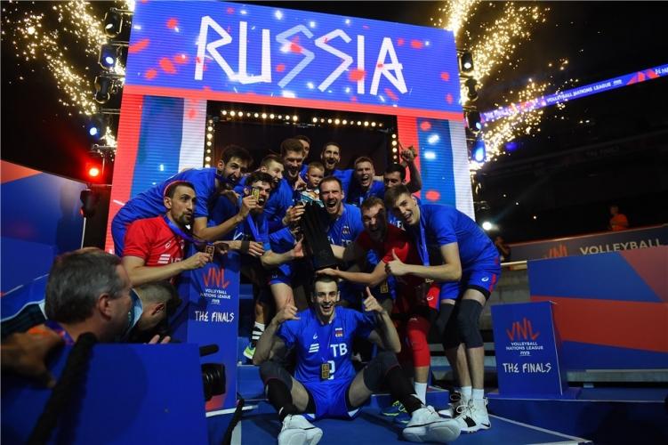 Финал в Лигата на нациите в Лил: Франция - Русия 0:3