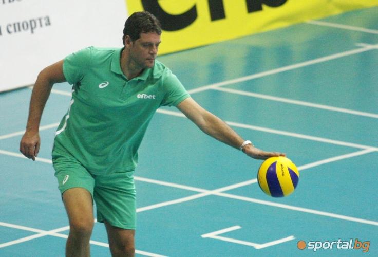Двустранна игра на националите по волейбол мъже