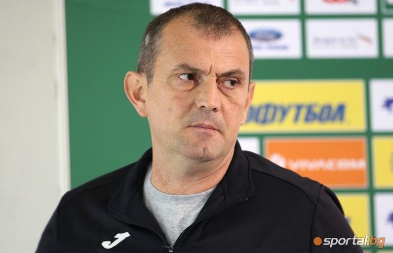 Пресконференция на Златомир Загорич преди мача с Хайдук (Сплит)