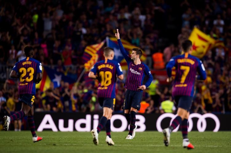 Барселона - Жирона 2:2