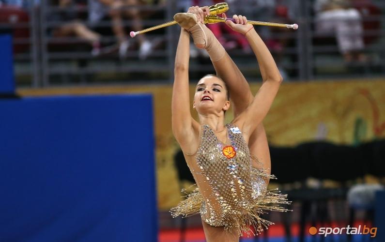 Финал бухалки нa СП по художествена гимнастика