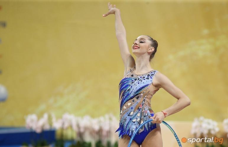 Финал на обръч на СП по художествена гимнастика
