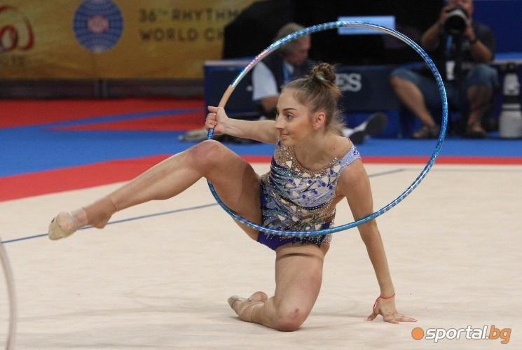 Последна подиумна тренировка на българските гимнастички преди Световното