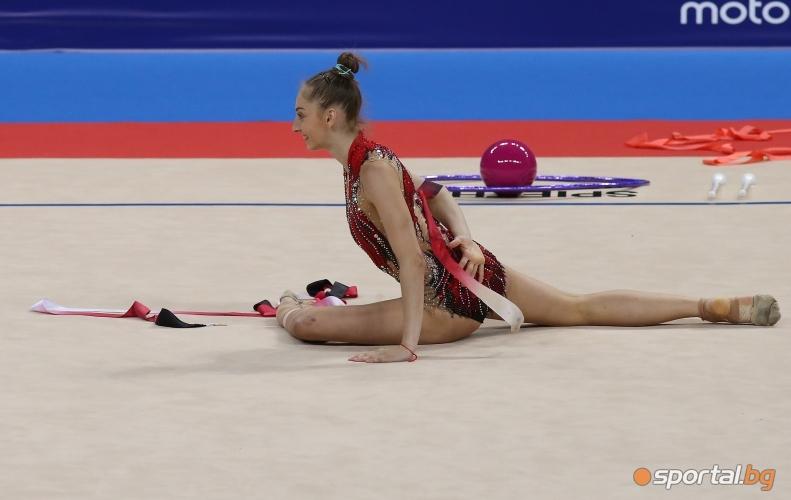 Открита тренировка по художествена гимнастика - индивидуално