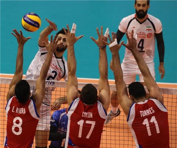 Иран - Пуерто Рико 3:0