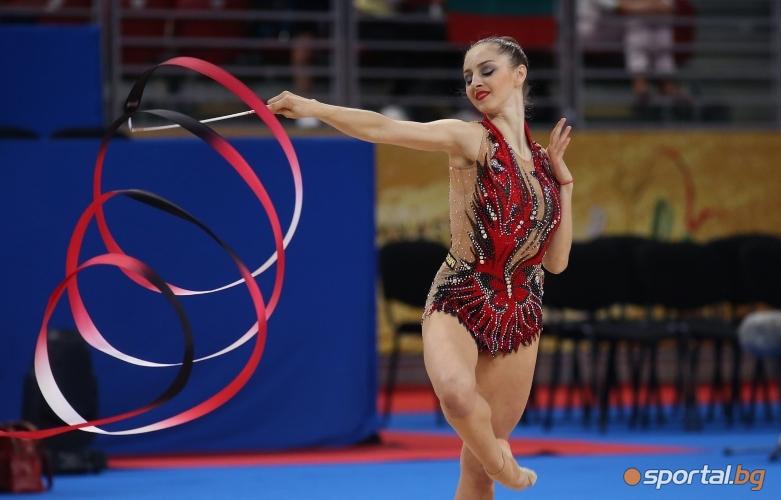 Боряна Калейн с лента на СП по художествена гимнастика