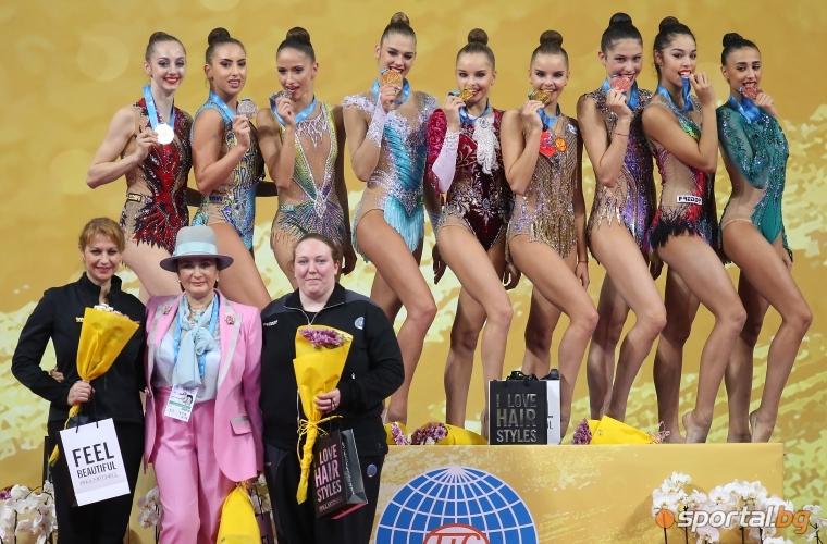 България с медал в отборното класиране, рускините отново първи не лента и бухалки