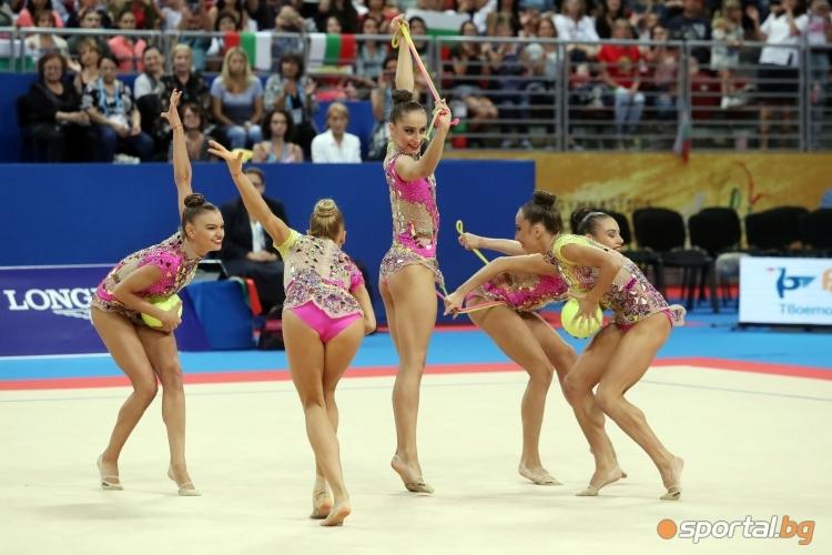 СП по художествена гимнастика - многобой при ансамблите