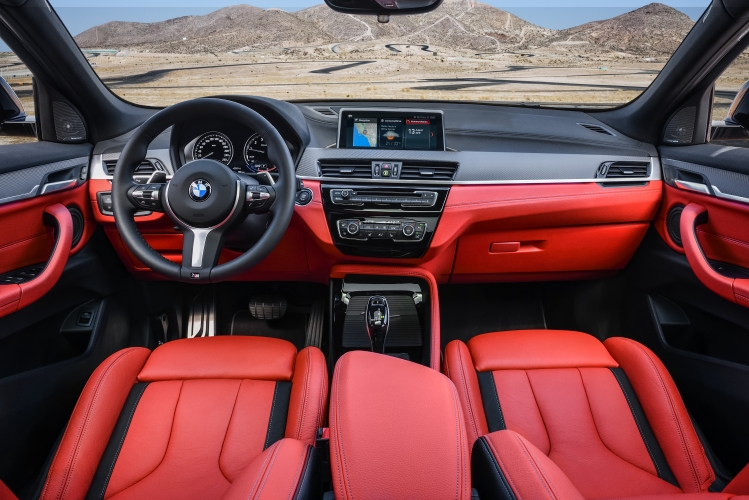 BMW представи най-мощното X2