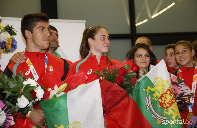Медалисти от младежката олимпиада Буенос Айрес