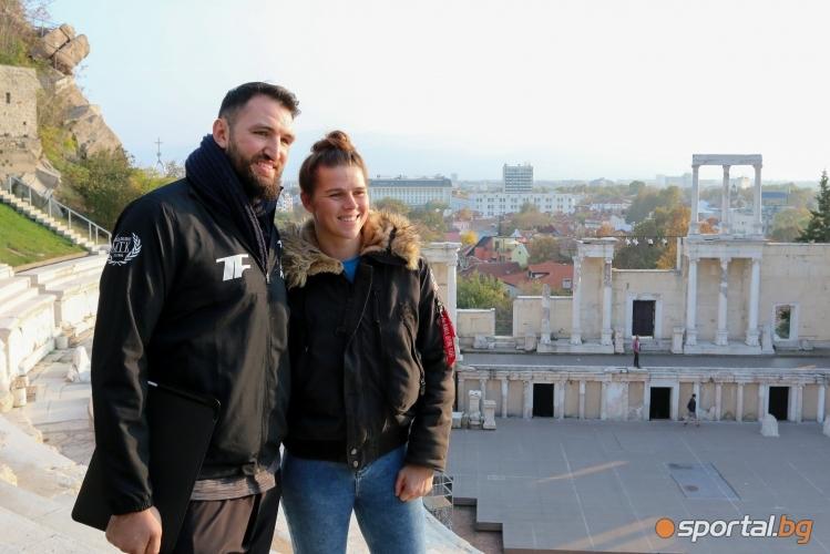 Хюи Фюри на разходка в Пловдив