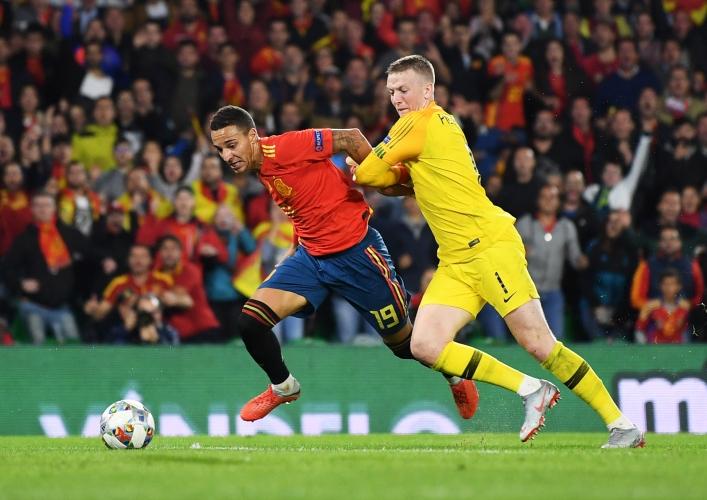 Испания - Англия