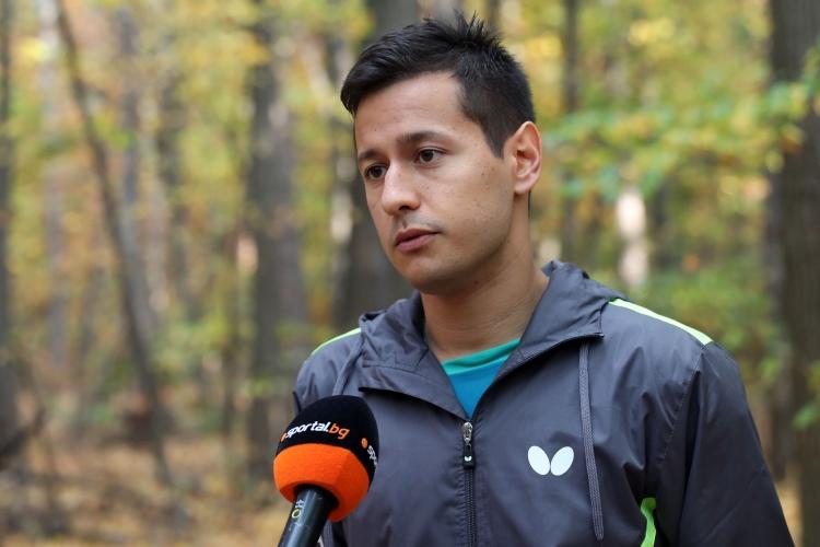 След световното сребро Денислав Коджабашев гледа и към олимпийско отличие в тениса на маса
