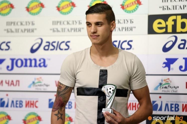 Кирил Десподов бе избран за играч на XIV кръг