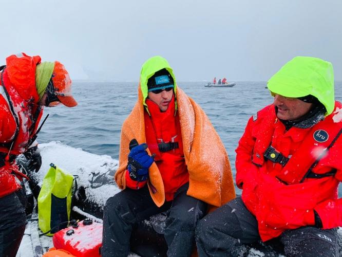 Петър Стойчев покори Антарктида