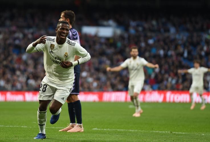 Реал Мадрид - Валядолид 2:0