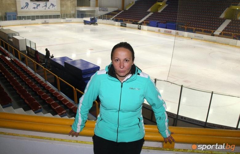 Тренировка по шорттрек с Евгения Раданов