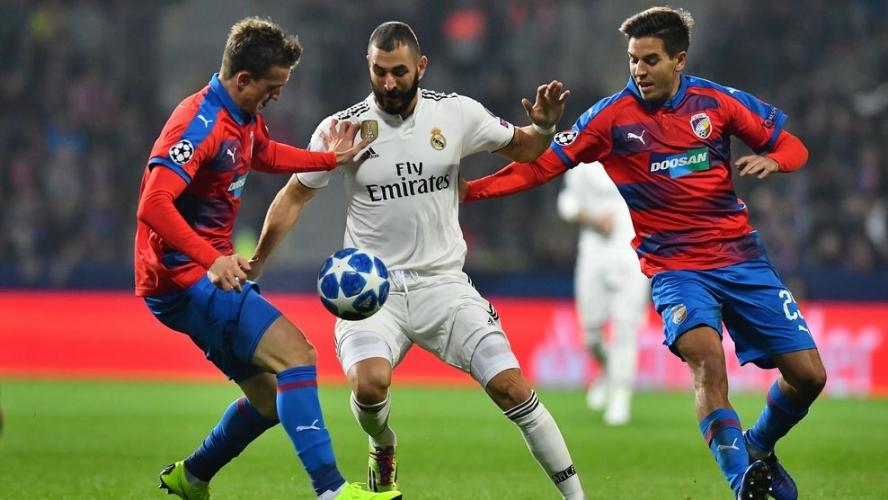 Виктория (Пилзен) - Реал Мадрид