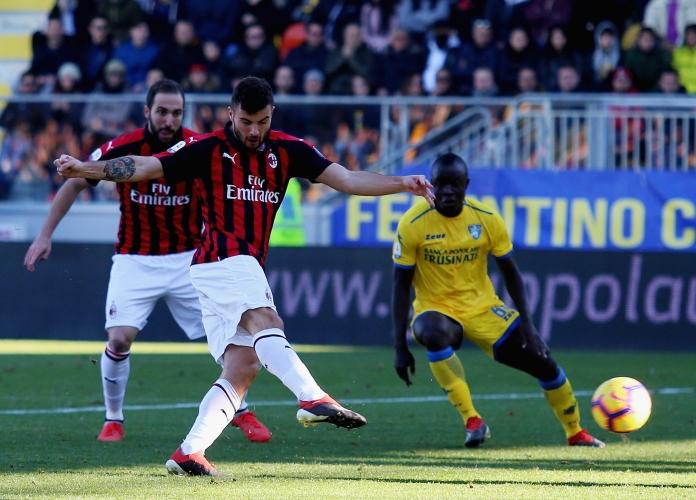 Фрозиноне спря Милан
