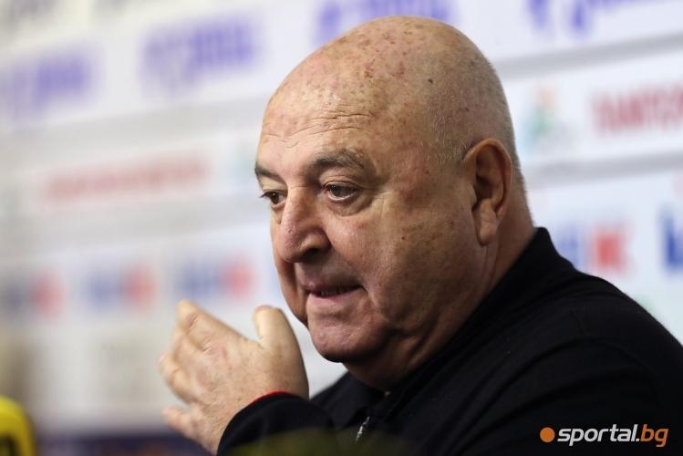 Венци Стефанов с анализ на есенния полусезон в Първа лига
