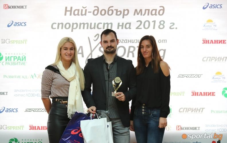 Габриела Стоева, Димитър Делчев, Стефани Стоеви