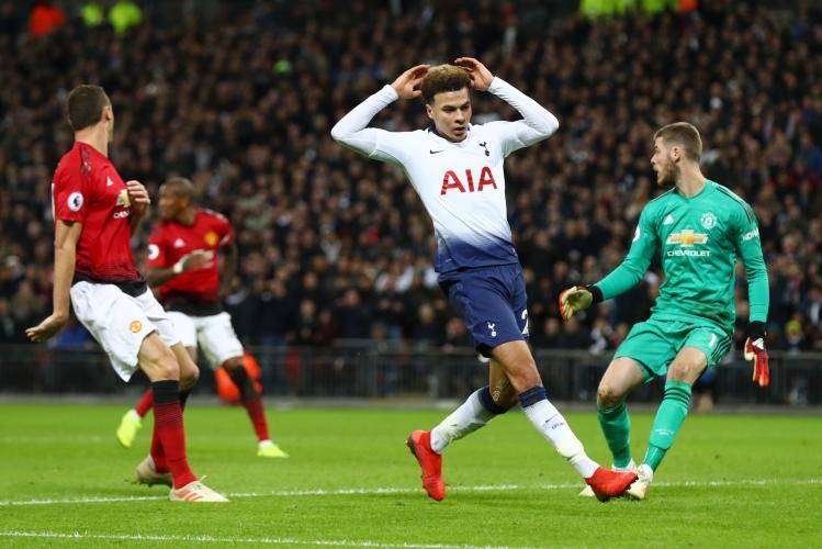 Тотнъм - Манчестър Юнайтед 0:1