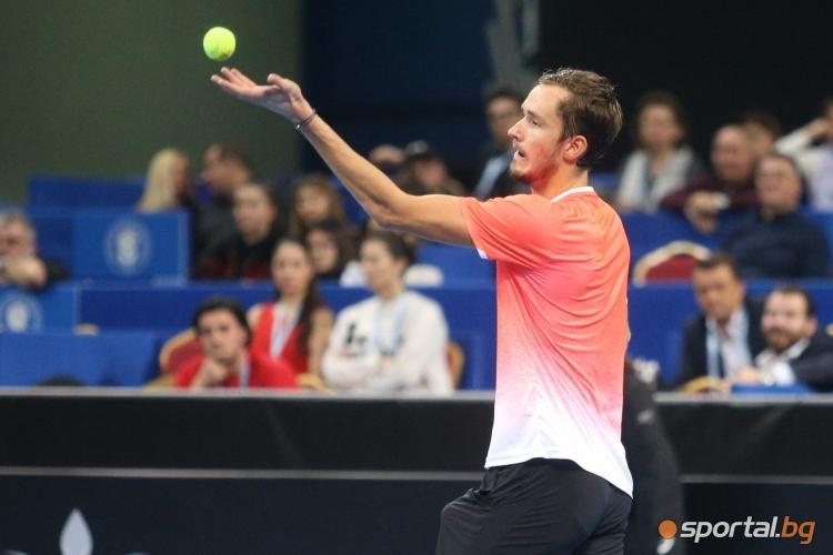 Мартон Фучович  - Данийл Медведев - Sofia Open 2019
