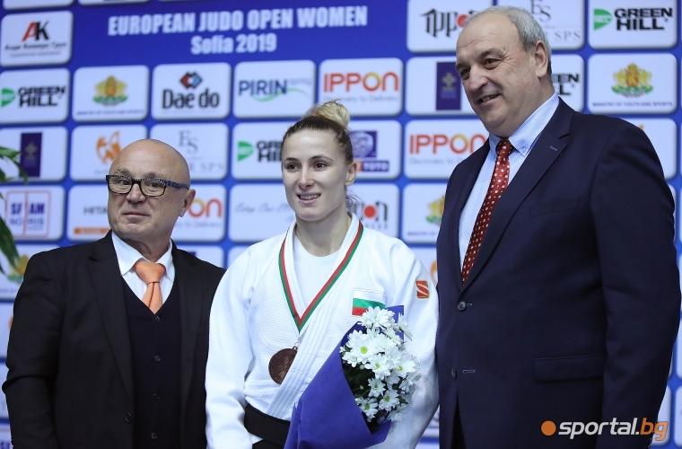 Ивелина Илиева се пребори за бронз на Европейската отворена купа в София