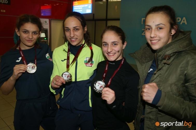 Горяна Стоева, Мелис Йонузова, Еми-Мари Тодорова,  Аслъхан Мехмедова