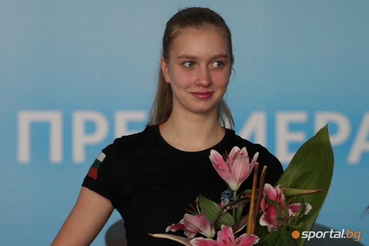 Александра Фейгин след успеха на Световното в Япония