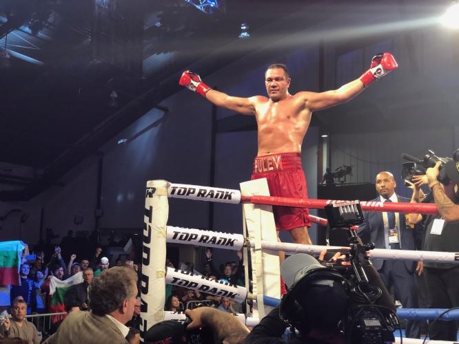 Кървава победа с нокаут за Кубрат Пулев
