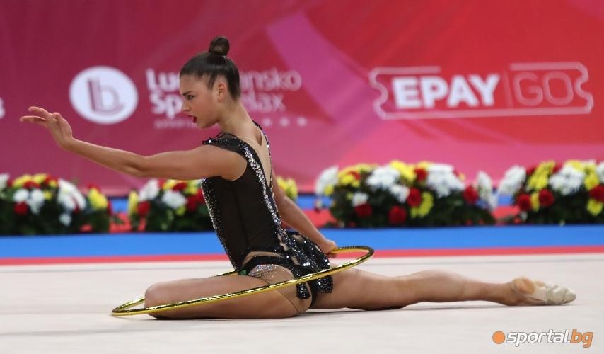 Руското индивидуално участие на СК по художествена гимнастика в София