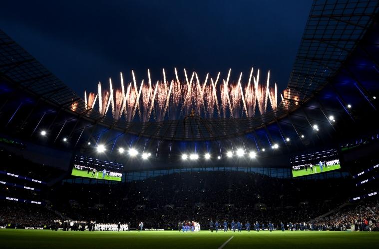 Тотнъм откри дългоочаквания си ултрамодерен стадион