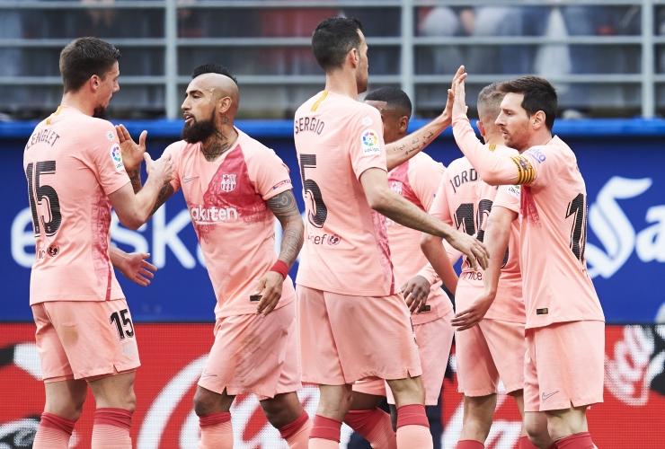 Ейбар - Барселона 2:2