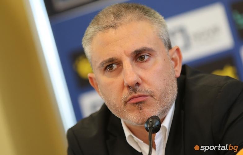 Петър Хубчев е новият старши треньор на Левски