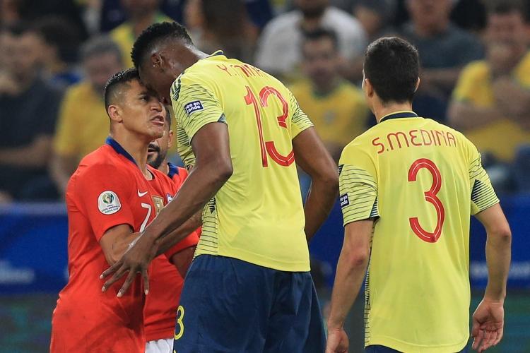 Колумбия - Чили