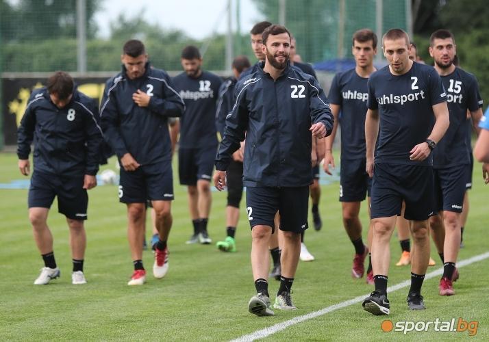 Милен Радуканов с първа тренировка на Септември